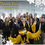 Thank you from The University of Iowa Admission Visitors Center